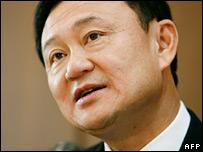 Former Thai Prime Minister Thaksin Shinawatra (file image)