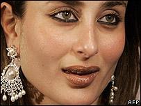 Bollywood star Kareena Kapoor