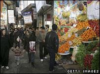 Tehran market (file picture)
