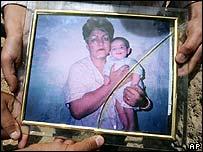 Zakia Zaki and her son Ahmad