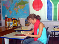 Czech student Sasha
