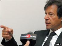 Imran Khan. File pic