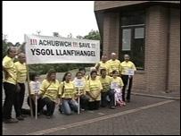 Protest against school closures