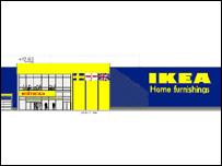 Ikea artist's impression