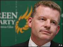 Irish Green Party leader Trevor Sargent - 12/06/2007
