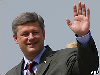 Stephen Harper - file photo June 2007