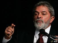 Luis Inácio Lula da Silva, presidente de Brasil