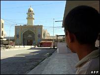 The damaged al-Askari shrine in Samarra (13 June 2007)