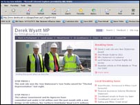 Derek Wyatt's website