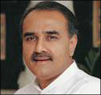 Civil Aviation Minister Praful Patel