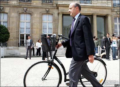 French minister Alain Juppe