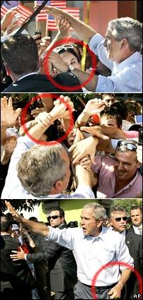 Куда делись часы Джорджа Буша?