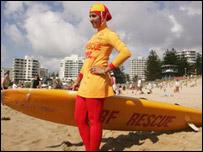 Meccaa Laalaa - Lebanese lifeguard in Australia