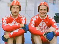 Graeme Obree and Jonny Lee Miller