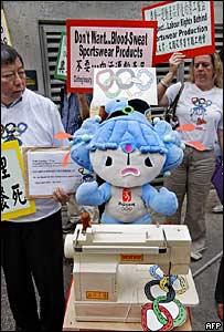 Protesta en contra del trabajo infantil
