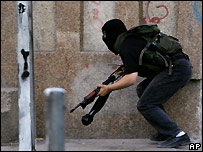 Hamas militant in Gaza - 13/06/2007