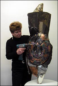 Artist Linda Stein