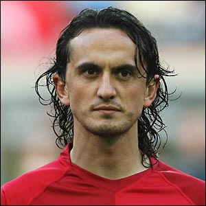 Turkish international Tuncay Sanli