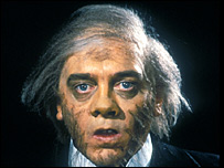 "David Hemmings playing 'Dr Jekyll And Mr Hyde"" in 1980"