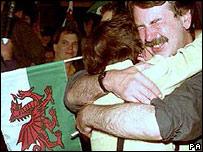 Devolution vote in 1997