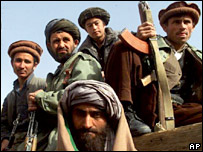 Taleban fighters (archive picture)