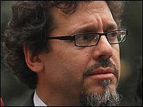 Ricardo Lagos Weber, portavoz del gobierno chileno