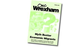 A special pack from Wrexham council on the facts about economic migrants