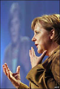 German Chancellor Angela Merkel in Berlin on 13 June