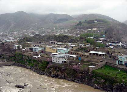 Faizabad - the provincial capital of Badakhshan in north-eastern Afghanistan