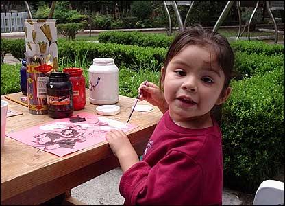 Hija de una refugiada salvadoreña
