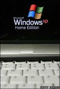 Windows XP, Getty