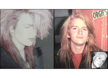 Russ in 1984, 1988 and 2007