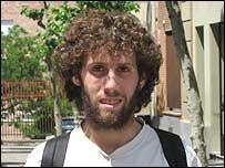 Lucas Oxley, joven español.