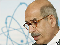 IAEA director Mohammed ElBaradei - 14/06/2007