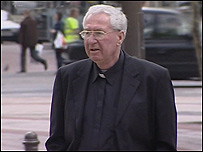 Father McGrath was sentenced to five years imprisonment
