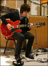 Noel Gallagher at Abbey Road