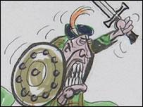 Ian Paisley cartoon