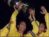 Brasil campeón de la Copa América de Paraguay 1999
