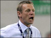 England U21 coach Stuart Pearce