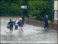Chapeltown flooding