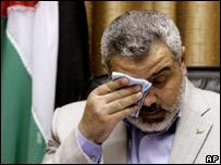 Sacked Palestinian Prime Minister Ismail Haniya (14/06/07)