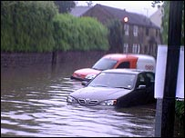 Flooding in Ecclesfield