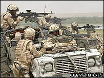 Nato troops in the south of Afghanistan
