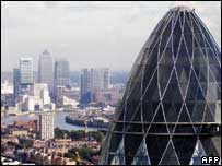 London skyline, AFP/Getty