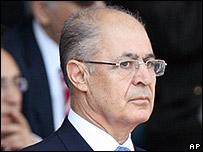 Turkey's President Ahmet Necdet Sezer