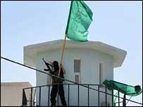 Hamas militants seize Fatah security HQ in Gaza city