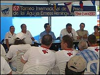 The 57th meeting of the Torneo Hemingway fishing tournament