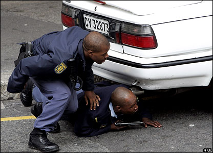 Fighting crime on the streets of Cape Town