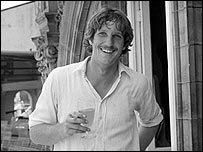 Botham after scoring a century at Lord's
