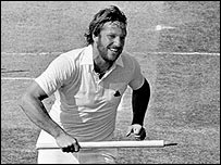 Ian Botham at Edgbaston, 1981